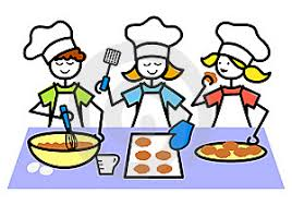 Kids Cooking Clipart Clipartcartoon Baking Dramatic Play