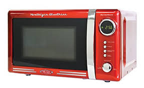 Nostalgia RMO770RED Retro 07 Cubic Foot Microwave Oven