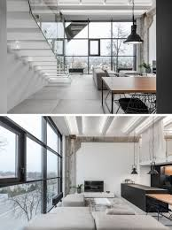 100 Interior Design Modern A Lithuanian Loft With A Monochrome And Wood Material