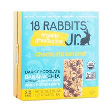 Can Rabbits Eat Pumpkin Seeds by 18 Rabbits Organic Chocolate Banana Granola Bars 6 Pack Thrive