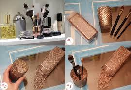 spiegelschrank make up aufbewahrung diy