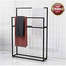m top handtuchhalter für badezimmer mit 2 armen