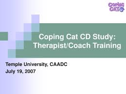 coping cat ppt coping cat cd study therapist coach powerpoint