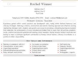 Teaching CV Example Teacher CV Curriculum Vitae Service