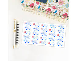 100 Usps Truck Tracker USPS Delivery Stickers For Your Life Planner Etsy