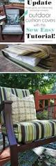 Outdoor Papasan Chair Cushion Cover by Top 25 Best Recover Patio Cushions Ideas On Pinterest Diy