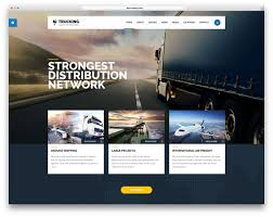 100 Logistics Trucking 35 Top Transportation WordPress Themes 2019 Colorlib