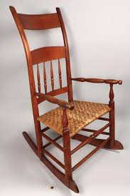 Kentucky Rocker Comprised Of Mixed Woods And Cherry Back ...