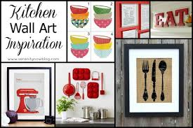 Popular Kitchen Wall Art Ideas Rounded Up At Serenity Now
