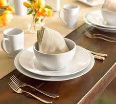 Pottery Barn Dinnerware The Great White Collection Mom & Wife