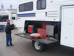 Folding Truck Camper Hitch Steps