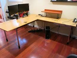 Linnmon Corner Desk Hack by L Desks Ikea Nice L Shaped Desk Ikea L Shaped Desk Inside L