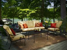 Meadowcraft Patio Furniture Cushions by Meadowcraft Wrought Iron 20 Square Micro Mesh End Table 3041220 01