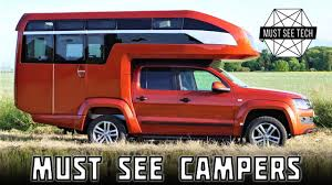 Top 7 NEW Motorhomes And Impressive Truck Bed Campers In 2018 - YouTube