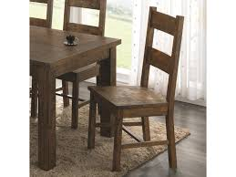 Coaster Coleman Wooden Dining Chair With Rustic Finish | Value City ... Coaster Company Brown Weathered Wood Ding Chair 212303471 Ebay Fniture Addison White Table Set In Los Cherry W6 Chairs Upscale Consignment Modern Gray Chair 2 Pcs Sundance By 108633 90 Off Windsor Rj Intertional Pines 9 Piece Counter Height Home Furnishings Of Ls Cocoa Boyer Blackcherry Side Dallas Tx Room Black Casual Style Fine Brnan 5 Value City 100773 A W Redwood Falls