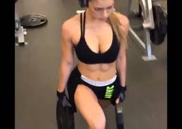 Anllela Sagra Fitness Model Workout Routines