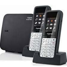 téléphone fixe sans fil gigaset sl610 pro duo novastore