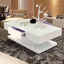 de tukailai wohnzimmer hochglanz glas couchtisch mit