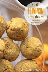 Healthy Pumpkin Desserts by Soft Pumpkin Cookies Gluten Free Vegan And Sugar Free