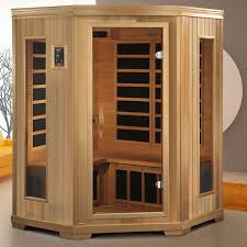 dynamic saunas torino 3 person corner far infrared sauna