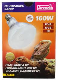 Reptile Heat Lamps Uk by Arcadia D3 Reptile Basking Lamp 80w 100w 160w Generation 2 Heat