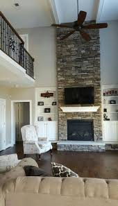 Living Room With Fireplace Design by Best 25 Two Story Fireplace Ideas On Pinterest Large Living