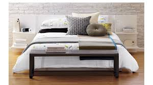 andes white queen storage bed cb2