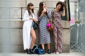 Vintage Dresses New York Fahion Week 2016 Ladies Fashion Street Style Urban