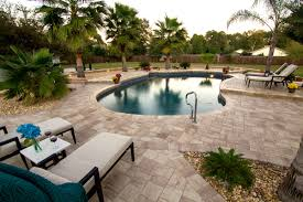 8x8 Pool Deck Plans by Design A Contemporary Pool Deck With Stonehurst Pavers From