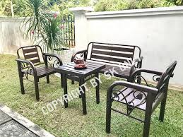 Outdoor Furniture Bench Chair Set /Garden Set/Metal Chair Set/Table  Set/Garden Furniture/Garden Seating Table Chair/Long Bench Brompton Metal Garden Rectangular Set Fniture Compare 56 Bistro Black Wrought Iron Cafe Table And Chairs Pana Outdoors With 2 Pcs Cast Alinium Tulip White Vintage Patio Ding Buy Tables Chairsmetal Gardenfniture Italian Terrace Fniture Archives John Lewis Partners Ala Mesh 6seater And Bronze Home Hartman Outdoor Products Uk Our Pick Of The Best Ideal Royal River Oak 7piece Padded Sling Darwin Metal 6 Seat Garden Ding Set