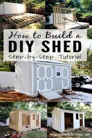 10x16 Shed Floor Plans by How To Build A Storage Shed From Scratch Step By Step Tutorial