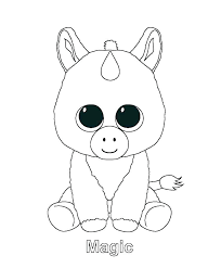 Rainbow Dash Coloring Pages Free Unicorn Color