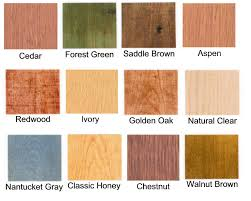 Organiclear WR 5 Oil Based Log Home Stain Sample Log Home Stain