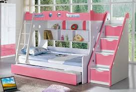 Creative Of Bunk Beds For Girls Room Bedroom Appealing Little Girl Ideas With Photo