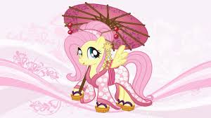 My Little Pony Coloring Pages For Kids Book Fluttershy