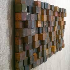 Block Wood Wall Art O Recous