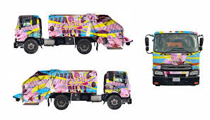 100 Dc Toy Trucks 15 New ArtCovered Recycling Are Hitting The DC Streets DCist