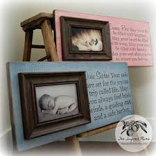 Baptism Decoration Ideas For Twins by Twins Gift Personalized Picture Frame Custom 8x20 Baby Shower