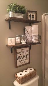 diy bathroom decor ideas for floating shelves best