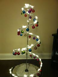 The Grinch Christmas Tree Skirt by Ikea Metal Tree Frame White Starry Tinsel Led String Lights