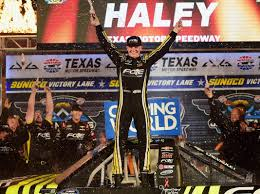 100 Truck Race Results Gilliland Runs Dry Haley Steals Texas Victory