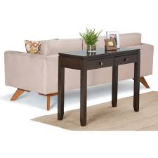 Cheap Sofa Table Walmart by Table Extraordinary Simpli Home Cosmopolitan Console Sofa Table