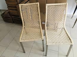 ikea nandor rattanstühle stuhl rattan esszimmerstuhl
