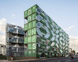 100 Shipping Containers San Francisco New Residential Building Made Of 140 Reclaimed