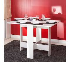 table cuisine pliable table de cuisine pliable leane blanc