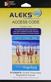 ALEKS 360 Access Card 18 Weeks For Intermediate Algebra Softcover