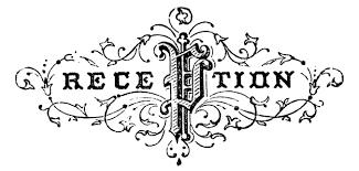 Logo Clipart Reception 8