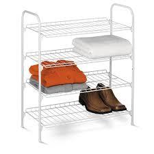 honey can do sho 01172 4 tier closet accessory shelf