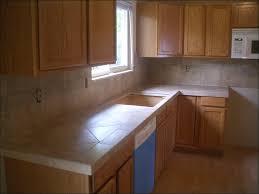 Kitchen Backsplash Pictures With Oak Cabinets by Kitchen Kitchen Color Ideas Oak Cabinets Black Appliances Front