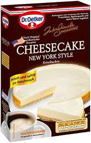 dr oetker cheesecake new york style 4er pack 4 x 420 g